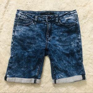 Notify Girls Acid Wash Denim Jean Shorts 4 5 10 NWT $82